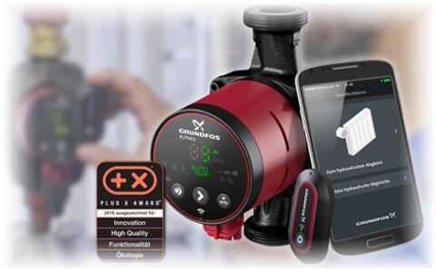 Насос Grundfos Alpha3 - больше надежности, эффективности и функций