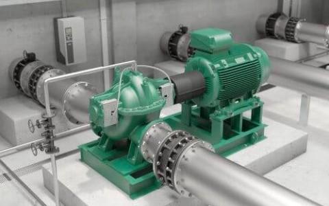 Wilo Atmos TERA-SCH - инновационный насос для больших объёмных потоков