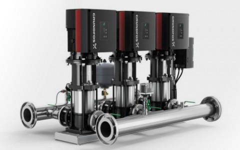Grundfos расширяет линейку насосных установок Hydro Multi-E