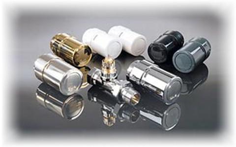Дизайнерская серия терморегуляторов Danfoss X-tra collection