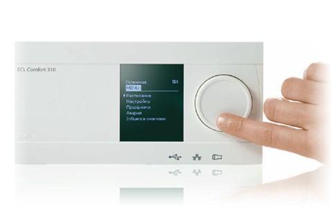 Новые контроллеры Danfoss ECL - Даже сложное бывает простым !