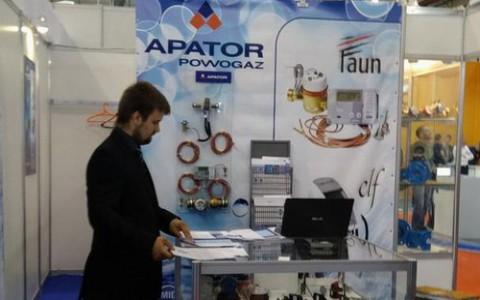 Apator Powogaz представил продукцию на выставке