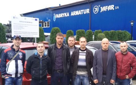 Поездка на фабрику арматуры Jafar в Польше