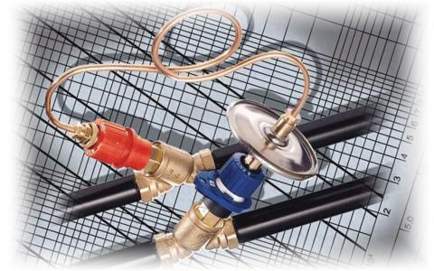 Балансировка системы отопления с помощью клапанов Honeywell