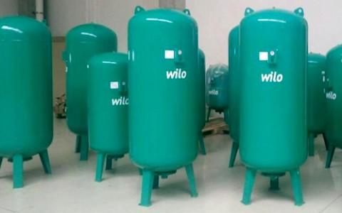 Новый модельный ряд баков Wilo по ещё более выгодным ценам