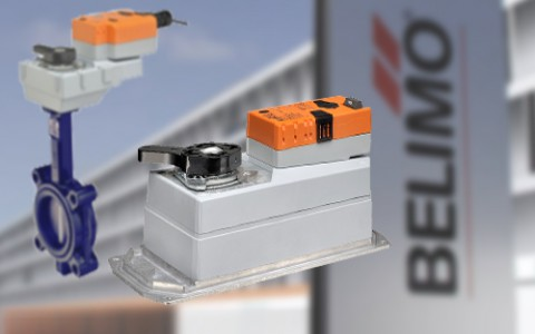 Belimo представляет новую серию приводов DR для баттерфляев