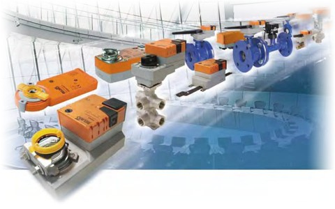 Регулирующие клапаны и приводы производства Belimo