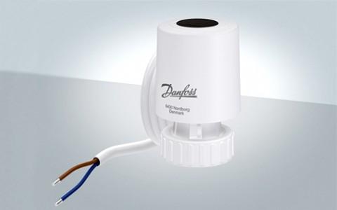 Новая серия термоэлектрических приводов Danfoss TWA-Q