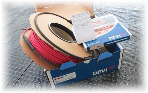 Электрические кабельные системы обогрева Devi от Danfoss