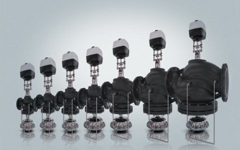 Новые комбинированные клапаны Danfoss AFQM2