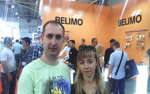 Продукция Belimo на выставке