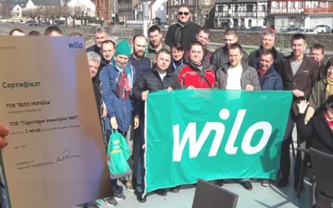 Мы - лидеры продаж Wilo в Украине