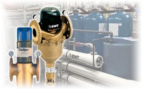 Фильтры для механической очистки с обратной промывкой BWT