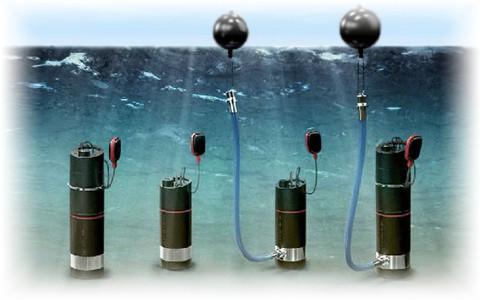 Автоматическая погружная насосная установка для водоснабжения Grundfos SBA