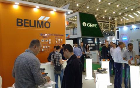 Оборудование Belimo было представлено на выставке «Аква-Терм 2019»