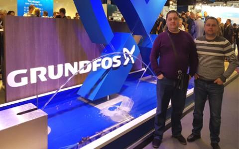 В гостях у Grundfos на выставке ISH