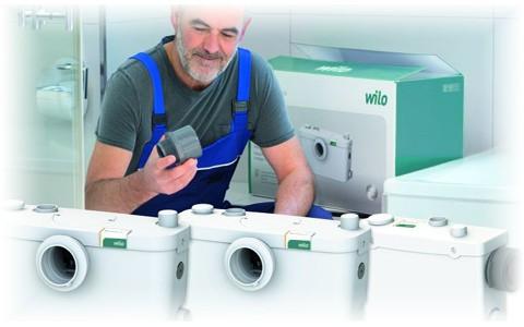 HiSewlift и HiDrainlift - новые компактные установки водоотведения от Wilo