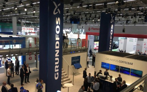 Компания Grundfos представила оборудование на выставке ISH 2019