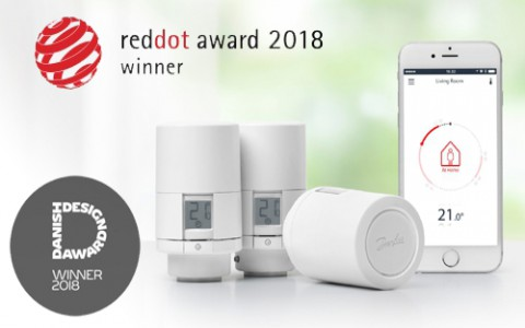 Danfoss получил награду Red Dot Award за лучший дизайн