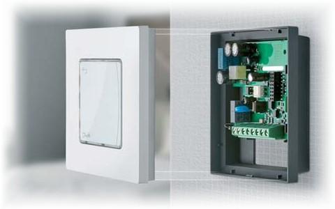Комнатные терморегуляторы Danfoss Icon для систем напольного отопления