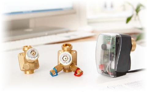 Danfoss AB-QM - идеальное регулирование и балансировка в одном клапане