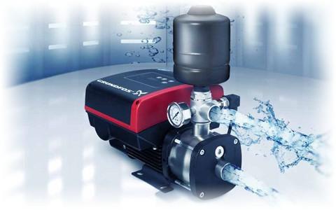 Автоматические установки повышения давления Grundfos CMBE