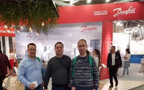 На выставке ISH 2019 представлено новое оборудование Danfoss