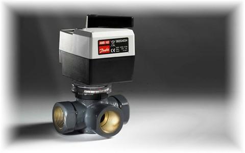 Регулирующие поворотные клапаны Danfoss - безупречный контроль расхода