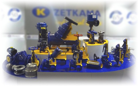 Арматура Zetkama - европейское качество по разумным ценам