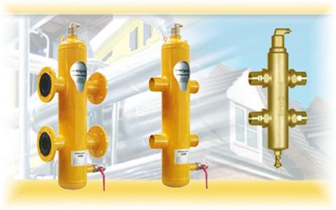 Гидрострелки Spirocross - три функции в одном устройстве