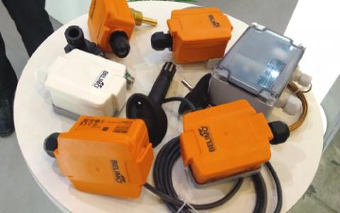 Belimo предлагает датчики температуры, давления, расхода, влажности