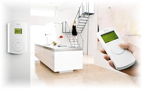 Управление системой напольного отопления Danfoss CF2+